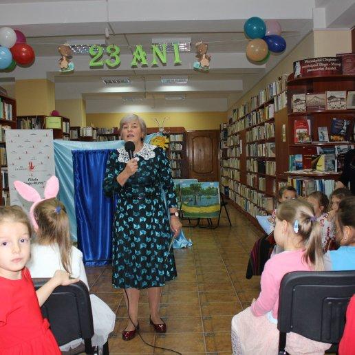 Galina Acriș, educatoare la Grădinița nr. 108